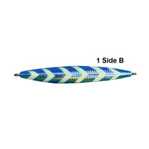 Cyclone Jig blue glow strips is the best grouper jigs