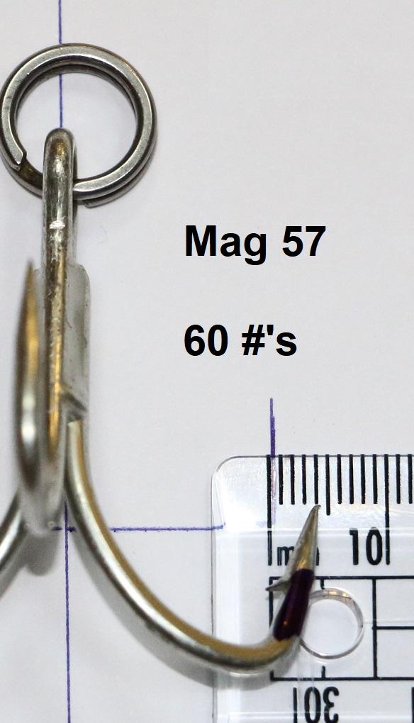 Treble hooks for gt's st-76