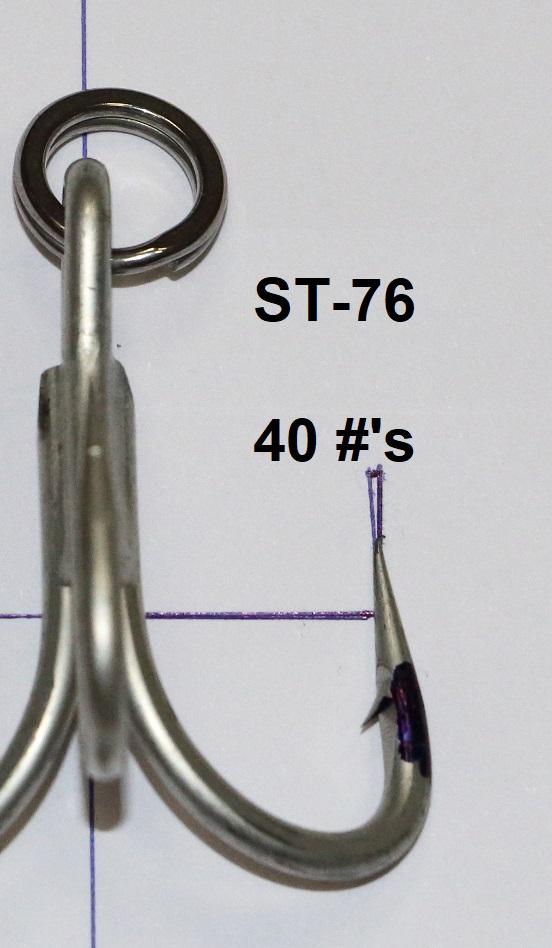 HD GT treble hooks